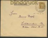 dt. Reich Umschlag Privatbestellung # 92 gestemp(21517)