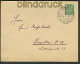 dt. Reich Umschlag Privatbestellung # 93 gestemp(21518)