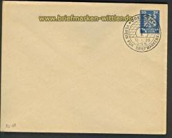 dt. Reich Umschlag Privatbestellung # 95 gestemp(21523)