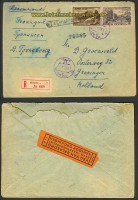 Russland R-Brief Moakau 17.12.1953 nach Holland (21662)