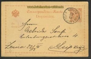Bosnien-Herzegowina GSK P 1 Zenica 25.12.1895 (21122)