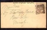 Großbritannien 1 P Stempelmarke Freimarke London 20.7.1891 (10837)