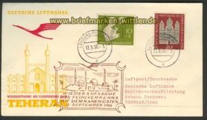Lufthansa Erstflug Aufnahme Naher Osten 12.9.56 (20383)