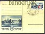 Baden Mi # 46 I PF II auf Sonderkarte  RAR !!!!!(15691)