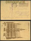 Brüssel sw-AK Kriegslazarett Brüssel 12.7.1917 (21297)
