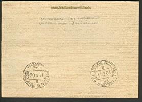 dt. Reich Beutekarte Unternehmen Barbarossa 1941(21682)