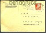 SBZ Mi # 222 EF Auslands-PK Berlin 5.6.1951 (17510)