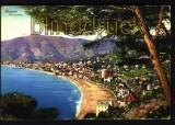 Italien farb-AK Alassio Panorama 1933 (a0293)