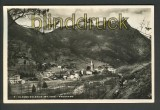 Alagna Valsesia sw-Foto-AK Panorama 1938 (a0549)