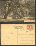 Lage Vuursche sw-AK Kapel met vijver 1917 (a0553)