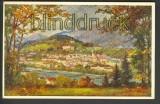 Bad Ischl Salzkammergut farb-AK Künstlerkarte (a0590)