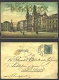 Polen Pardubice farb-AK Marktplatz 1905  (a0460)
