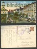 Warschau Waszawa farb-AK ul. Marszalkowska 1917 (a0613)