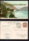 Chillon et les Dents du Midi farb-AK 1906 (ch0040)