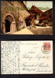 Chateau de Chillon Cour et escalier farb-AK (ch0057)
