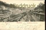 CZ Karlsbad sw-AK Mühlbrunnen-Colonnade 1900 (a0437)