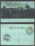 Prag sw-AK der Hradschin 26.9.1900  (a0513)