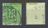 Bi-Zone AM-Post Mi #  12 G gestempelt geprüft Hettler (16292)