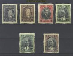 Türkei Mi # 1004/1009 postfrisch (14469)