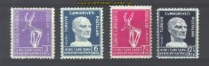 Türkei Mi # 1010/1013 postfrisch (14470)