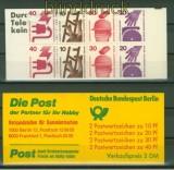 Berlin MH #  9 d II postfrisch 25,00 Euro (21227)