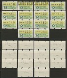 Bund ATM 1981 Mi # 1 Type 1 VS 1 ** kplt. mit Nr(20169)
