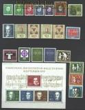 Bund 1959 kompletter postfrischer Jahrgang incl. Block und EZM (15082)