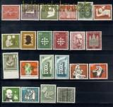 Bund 1956 kompletter postfrischer Jahrgang !!!! (9646)