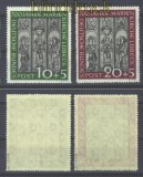 Bund Mi #  139/40 postfrisch Marienkirche geprüft Schlegel BPP (15596)