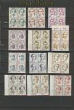 Bund Frauen ex Mi # 1304/1956 ** 4er-Blöcke (21000)