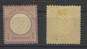 dt. Reich Mi #  16 ungebraucht mit Falz (20883)