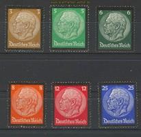 dt. Reich Mi # 548/53 Trauersatz postfrisch (20047)