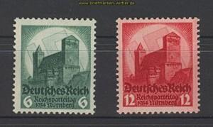 dt. Reich Mi # 546/47 Parteitag postfrisch (20048)