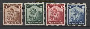 dt. Reich Mi # 565/68 Saarabstimmung postfrisch (20050)