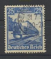 dt. Reich Mi # 582 I gestempelt Eisenbahr  (21063)