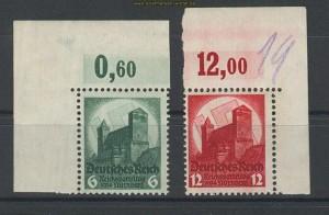 dt. Reich Mi # 546/47 Parteitag postfrisch (21066)