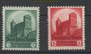 dt. Reich Mi # 546/47 Parteitag postfrisch (21067)