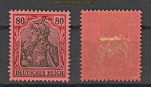 dt. Reich Mi #  77 ungebraucht mit Falz  (21048)