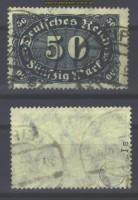 dt. Reich Mi # 246 a I gestempelt gepr. Infla  (21254)