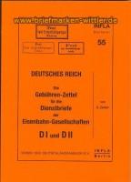 Infla Band 55 Gebühren-Zettel  I + D II (21371)
