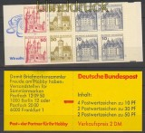Bund Markenheftchen Mi # 21 a II mZ  postfrisch  (21862)