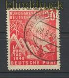 Bund Mi #  112 20 Pfg. Bundestag gestempelt (23521)
