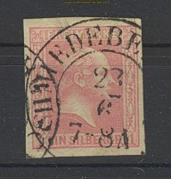 Preussen Mi # 10 gestempelt breitrandig  Schmiedeberg (22317)