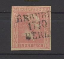 Preussen Mi # 10 gestempelt breitrandig  BP-Stempel (22316)