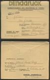 dt. Reich POW Frankreich Depot 1102 Quédillac 1947 (23473)