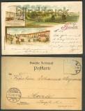 Gruss aus Gravelotte farb-Litho 3 Ansichten 1898 (d3487)
