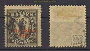 dt. Reich Mi # 133 II gestempelt geprüft Infla Berlin  (23573)