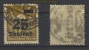 dt. Reich Mi # 283 gestempelt geprüft Infla Berlin (23591)