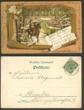 Behüt Dich Gott farb-Litho Hörde 1899 (d3511)