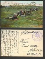 Maschinengewehrkompanie farb-AK 1.11.1914 (d3545)